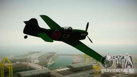 Japan World War 2 Rustler для GTA San Andreas вид слева