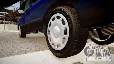 Mazda Pickup для GTA 4 вид сзади