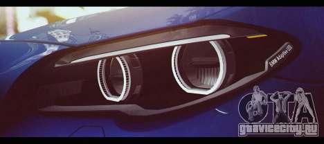 BMW M5 F10 2015 для GTA San Andreas вид справа