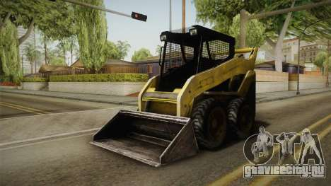 Demolition Company - Skid Steer Loader для GTA San Andreas вид справа