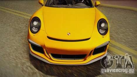 Porsche 911 R 2016 для GTA San Andreas вид справа