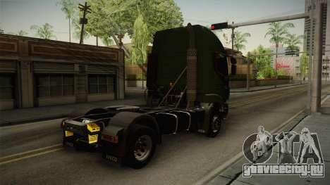 Iveco Trakker Hi-Land 4x2 Cab High v3.0 для GTA San Andreas вид справа