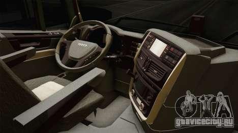 Iveco Trakker Hi-Land 4x2 Cab High v3.0 для GTA San Andreas вид изнутри