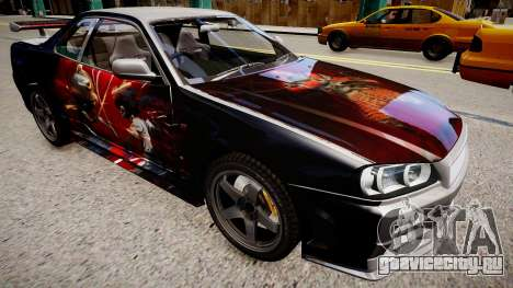 Nissan Skyline R34 Paintjob by eXTaron для GTA 4