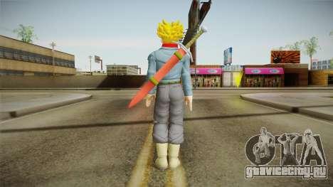 DBX2 - Trunks SSJ2 для GTA San Andreas третий скриншот