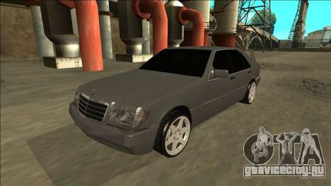 Mercedes Benz W140 Evolution для GTA San Andreas вид сзади слева