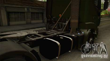 Iveco Trakker Hi-Land 4x2 Cab High v3.0 для GTA San Andreas вид сбоку