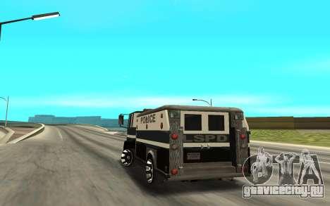 DFT30 Enforcer для GTA San Andreas вид сзади слева
