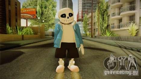 Sans The Skeleton для GTA San Andreas второй скриншот