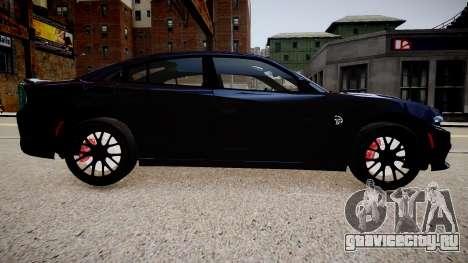 Dodge Charger SRT Hellcat 2015 для GTA 4 вид слева