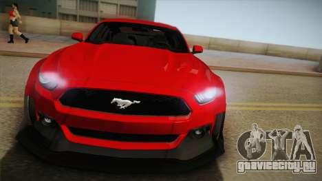 Ford Mustang GT Premium HPE750 Boss 2015 для GTA San Andreas вид справа