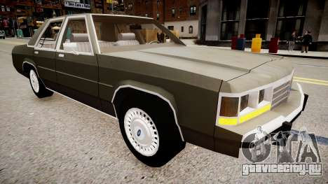 Ford LTD Crown Victoria 1989 для GTA 4 вид справа