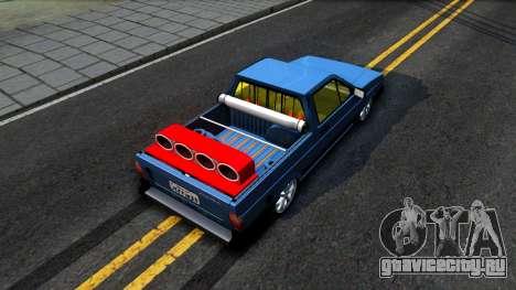 Volkswagen Saveiro для GTA San Andreas вид сзади