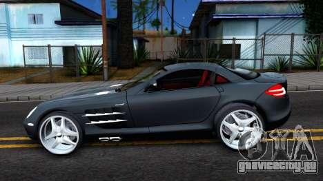 Mercedes-Benz SLR Mclaren 2011 для GTA San Andreas вид слева