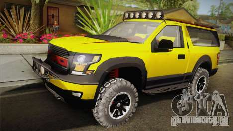 Ford F-150 Raptor FSHH для GTA San Andreas