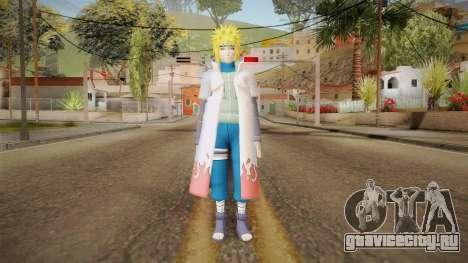 Minato Edo Tensei Hokage Outfit (Sage Mode) для GTA San Andreas второй скриншот