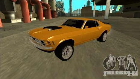 1970 Ford Mustang Boss 429 для GTA San Andreas