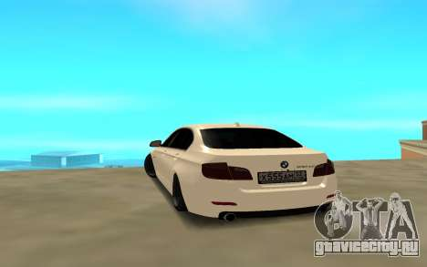 BMW 530 для GTA San Andreas вид сзади слева