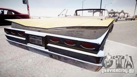 Voodoo Cabrio для GTA 4 вид слева