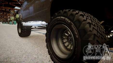 Ford Econoline 150 для GTA 4 вид сзади
