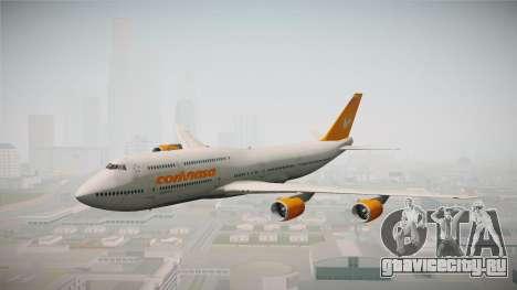 Boeing 747-8I Conviasa для GTA San Andreas вид сзади слева