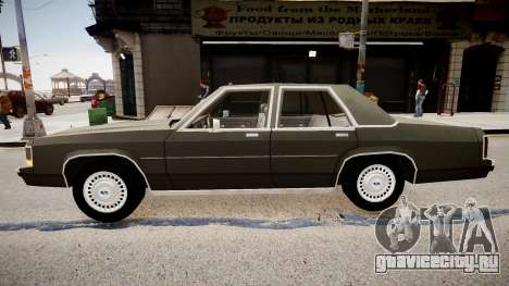 Ford LTD Crown Victoria 1989 для GTA 4 вид слева
