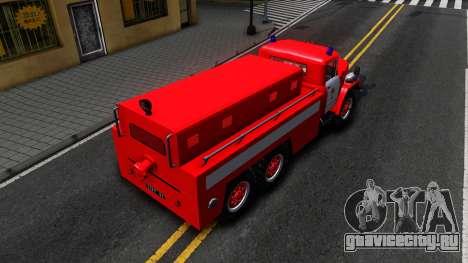 ЗиЛ 131 ПНС 100 для GTA San Andreas вид сзади