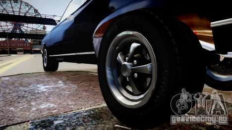 Chevrolet Nova для GTA 4 вид сзади