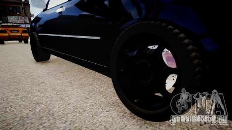 Toyota Progres для GTA 4 вид сзади