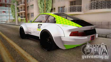 GTA 5 Pfister Comet Retro Custom для GTA San Andreas вид сверху