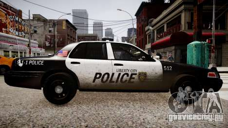 Ford Crown Victoria LCPD Police для GTA 4 вид слева