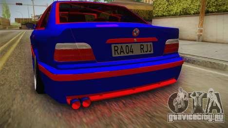 BMW 3 Series E36 Urechea Stelista Edition для GTA San Andreas вид сбоку