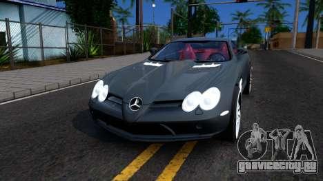Mercedes-Benz SLR Mclaren 2011 для GTA San Andreas