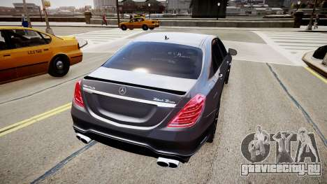 Mercedes-Benz S63 AMG W222 WALD для GTA 4 вид слева