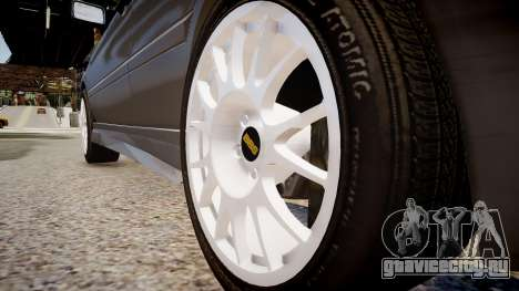 Volkswagen Golf 3 GTI для GTA 4 вид сзади