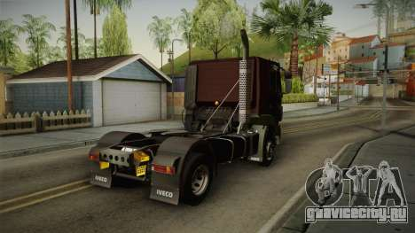 Iveco Trakker Hi-Land 4x2 Cab Low v3.0 для GTA San Andreas вид сзади слева
