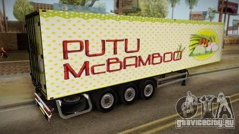 Putu McBamboo Trailer для GTA San Andreas вид слева