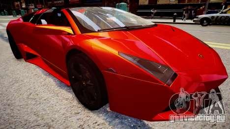 Lamborghini Reventon для GTA 4 вид справа