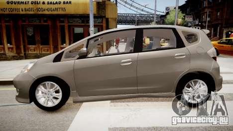 Honda Fit для GTA 4 вид слева