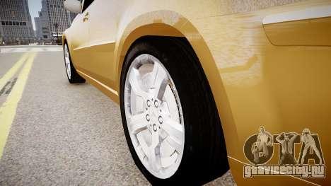 Mercedes GL 450 для GTA 4 вид сзади