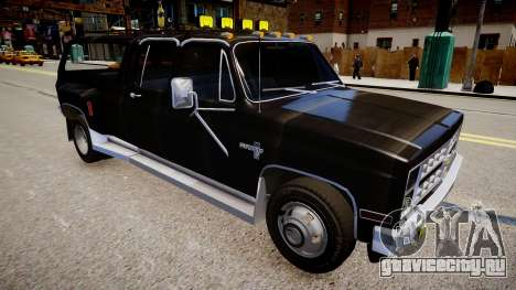 Chevrolet Silverado Civil для GTA 4