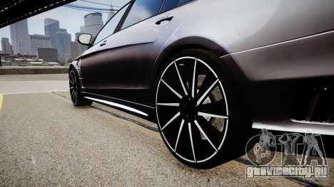 Mercedes-Benz S63 AMG W222 WALD для GTA 4 вид сзади