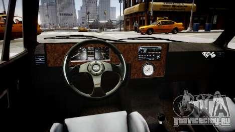 Volkswagen Caddy US Army для GTA 4 вид изнутри