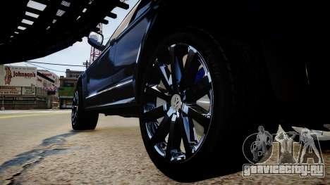 Volkswagen Touareg R50 для GTA 4 вид сзади