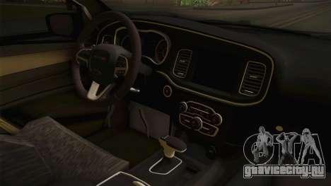 Dodge Dart 2017 для GTA San Andreas вид изнутри