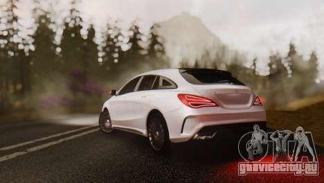 Mercedes-Benz CLA45 AMG Shooting Brakes Boss для GTA San Andreas вид слева