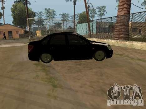 Lada Granta Armenian для GTA San Andreas вид слева