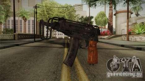 CoD 4: MW - Škorpion vz. 61 Remastered для GTA San Andreas