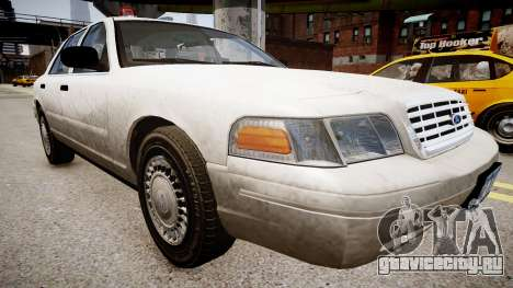 Ford Crown Victoria CVT Detective для GTA 4 вид справа