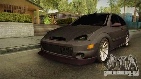 Ford Focus SVT CTG для GTA San Andreas